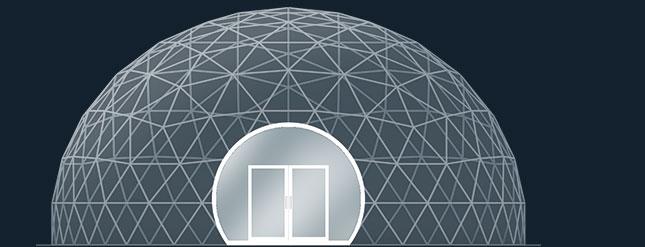 Модель GeoTenso GeoDome Individual