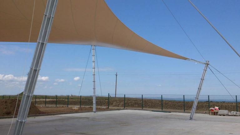 Конструкция Membrane Umbrella