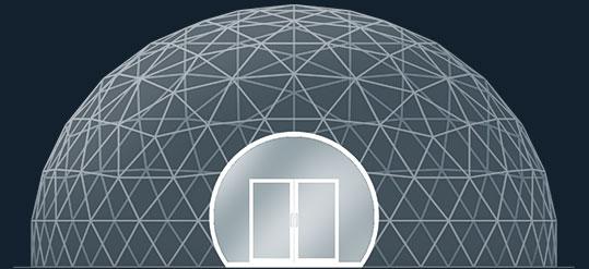 Модель GeoTenso GeoDome