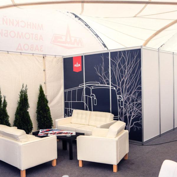 Выставочная мебель для шатра МАЗ