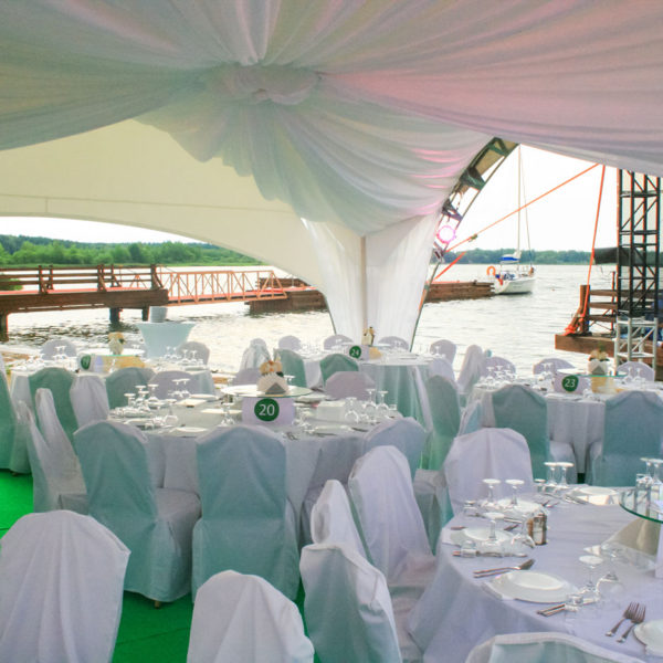 Пляжные шатры-навесы для ресторанов